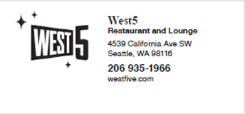 West Five Restaurant