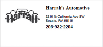 Harrahs Automotive